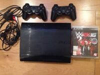 PS3 really good condition with 6 games and two controllers