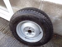 Caravan spare wheel and tyre ( new ) 175x13