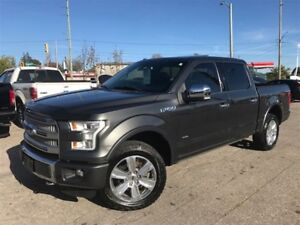 2015 Ford F-150 PLATINUM / NAV / ROOF / LEATHER