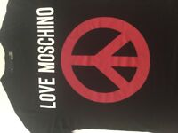 Mans original Love Moschino TShirt