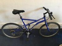Men's Mountain bike, Blue