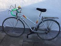 Vintage ladies peugeot road bike