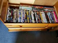 140 + Dvds comedy horror action job lot clearence