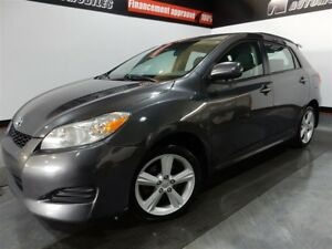 2010 Toyota Matrix XR- AWD- A/C- JAMAIS ACCIDENTÉ XR- AWD- A/C-