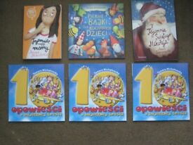 6 Brand New Polish Story Books for £3.00 EACH BOOK