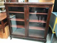 Mahogany display cabinet FREE DELIVERY PLYMOUTH AREA
