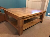 Orkney solid oak coffee table