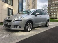 2011│Peugeot 5008 1.6 HDi FAP Exclusive 5dr│Sat Nav│Pano Roof│Leather Seats│Hpi Clear│Full Service
