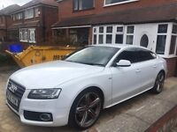 White Audi A5 S Line For Sale