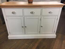 Ex Display 'The Cotswold Company'Lundy 3 Door Sideboard - RRP £449 - UK Delivery