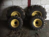 John deere 955 985 975 wheels and rims new unused