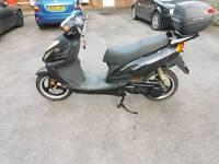 Wangye 125 matrix moped