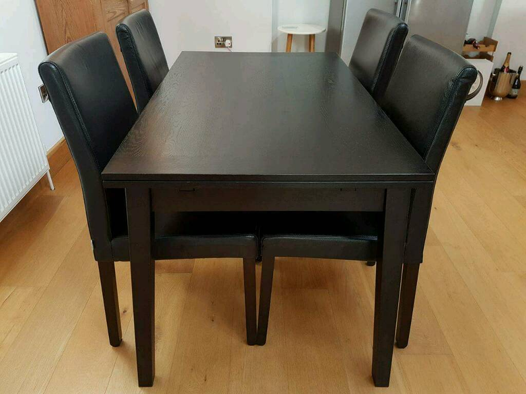Habitat Ruskin Wood Dining Table Extendable