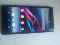For sale Xperia Z 16gb memory 5inch screen