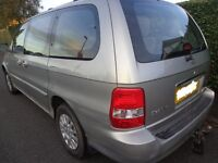 2003 1 owner 7seater kia sedona diesel with £60 diesel needs slight attention runs and drives+towbar