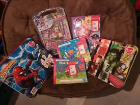 Kids activities books and sets
