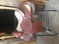 Show Saddle Silver Royal 15 inch