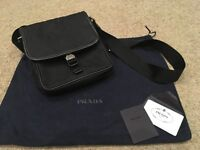 Prada black casual bag
