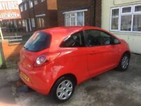 2014 FORD KA 1.2 Edge 3 door red low mileage drives like new cheap first car