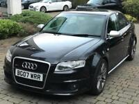 2007 AUDI RS4 4.2 V8 SALOON - FSH - PART EXCHANGE PX