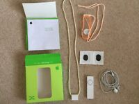 iPod shuffle 1st generation as new with box, headphones, sport case etc