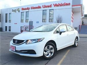2013 Honda Civic Sedan LX | H.Seats | Keyless | B.Tooth