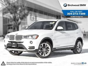2017 BMW X3 xDrive28i Premium Package Essentials - Local One O