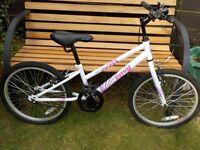 Girls Apollo Envy White Bike