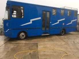 Leyland horsebox camper