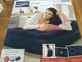 Brand new Air bed and pump