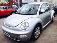 VW BEETLE AUTOMATIC PETROL SERVICE HISTORY AIRCON ICE COLD