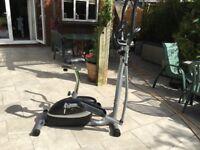 V-Fit Exercise Bike. 2-in-1 Magnetic Cross Trainer Exercise Bike