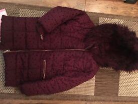 Girls matalan coat age 8