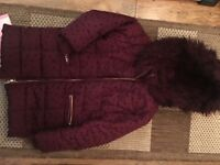 Girls matalan coat age 8