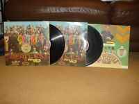 SGT PEPPER 12INCH RECORDS
