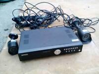 CCTV CAMERA SYSTEM DVR AVTECH 4CH