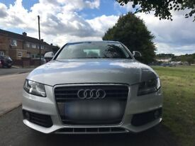 AUDI A4 2.0 TDI(2009) Automatic 8 speed 5 door, full service history+ 1 year warranty on the car.