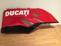 DUCATI 1199 Tricolore left lower fairing