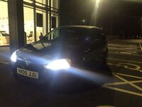 Black Vauxhall Corsa 1.2 MOT till May