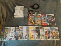 Nintendo Wii and 17 games