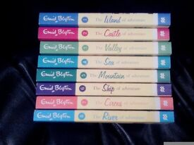 Set Of 8 Enid Blyton Paper Back Books New Condition