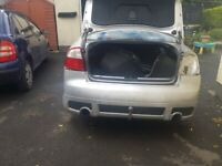 A4 b6 rear bumper