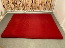 FUTON COMPANY Futon Plus Red FUTON COMPANY Cover. BARGAIN + I Can Deliver Also