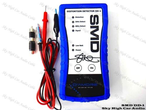 SMD DD1 Steve Meade Distortion Detector DD-1 Car Audio Amp Signal Test Tone CD