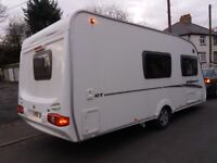 Swift Bridgemere 4 berth 2008 immaculate condition family caravan with awning and motor mover