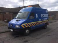 Iveco spec lift / recovery vehicle