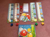 Insey winsey spider game - nearly new. From orchard games