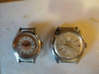 TWO VINTAGE MANUAL WIND UP WATCHES IN WORKING ORDER £10