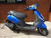 2006 PIAGGIO ZIP 50 4T MOPED - IDEAL FIRST TIME COMMUTER
