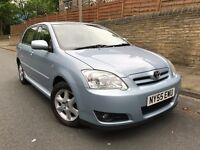 2006 TOYOTA COROLLA 1.6 VVT-i, 2 OWNERS, 117K GENUINE MILES, SERVICE HISTORY, DRIVES & LOOKS SUPERB